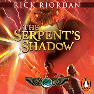 The Serpent's Shadow: The Kane Chronicles, Book 3 Audiobook