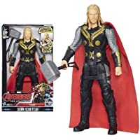 WON Thor 12 Inch Action Figure with LED Light and Sound Effects