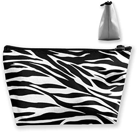 Striped Zebra Horse Tiger Makeup Train Cases Travel Makeup Bag Waterproof Portable Cosmetic Cases