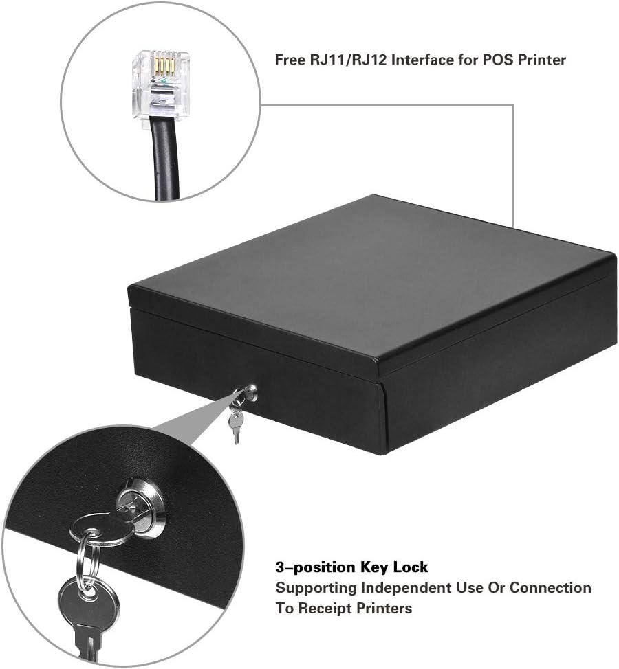 POS RJ11 Key-Lock Works 16 Cash Register Drawer for Point of Sale ...