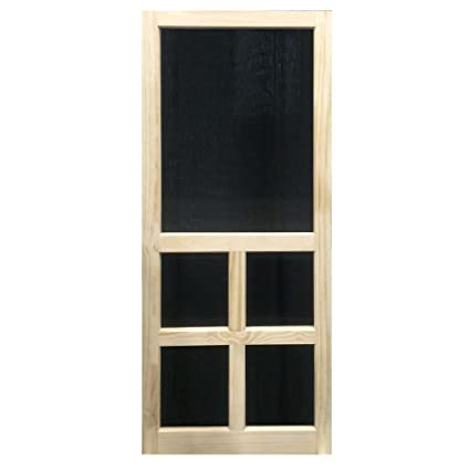 Superbe Solid Stainable Screen Door Victoria 36 Inch (36x80)