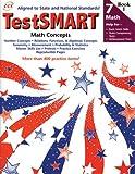 TestSMART Math, Concepts, Grade 7, Lori Mammen, 1570222487