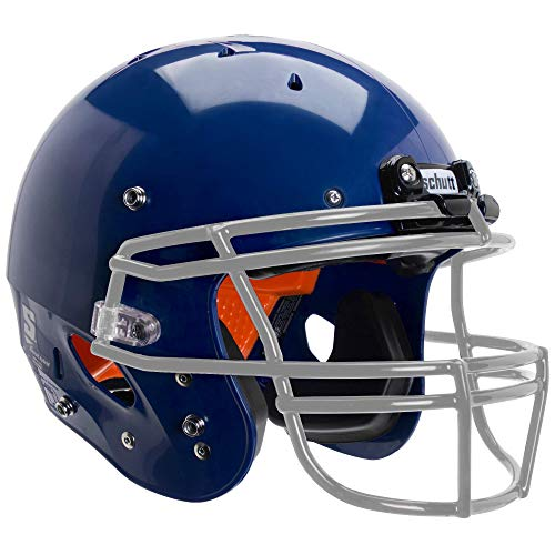 (Schutt Sports Recruit Hybrid Youth Football Helmet (Facemask NOT Included), Royal Blue, Medium)