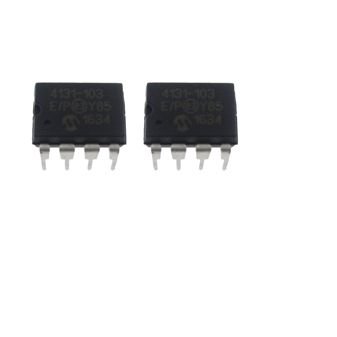 2 Pcs Mcp4131 103e P 10k Ohm Digital How To Build A Potentiometer Circuit Using 129 Steps Single Dip8 Industrial Scientific