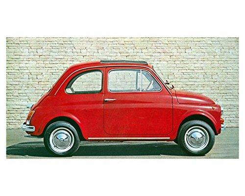 1969 Fiat 500 500S Automobile Photo Poster