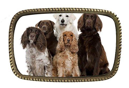 Dog Photo Belt Buckle - 4