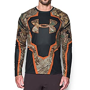 Under Armour Men's Hunting Jersey, Realtree Ap-Xtra/None, X-Large