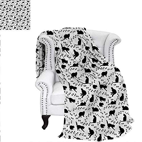 ALLMILL African Digital Printing Blanket Tiger Skin Pattern in Triangle Frames on Abstract Spiral Motifs Pattern Summer Quilt Comforter 62