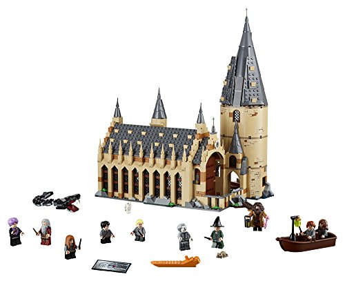 LEGO 6212644 75954 Harry Potter Hogwarts Great Hall Building Kit, 878 Pieces