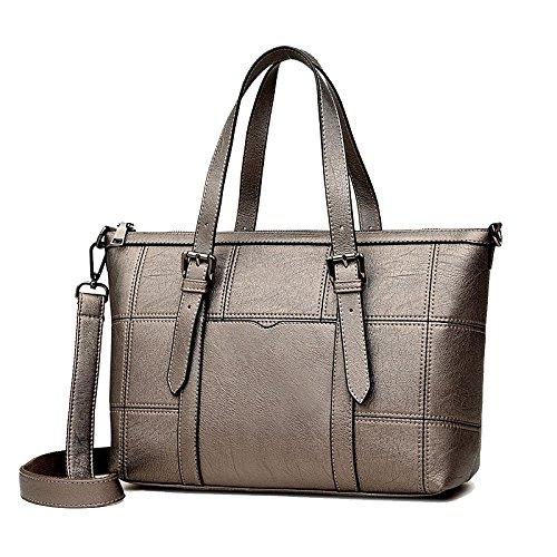 Large Shoulder Single Bronze Bag Business Capacity Lady Ajlby Bag Bag Traveler wqng8XxTBY