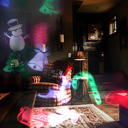 Miric-Projector-Light-LED-Party-Lights-Waterproof-Color-Motion-Spotlights-With-12pcs-Switchable-Pattern-Landscape-Projection-Lights-for-Birthday-Party-Holiday-Home-Garden-Stage