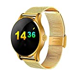 Kbj-accessory Profession Heart Rate Monitor Smart Watch - Gold
