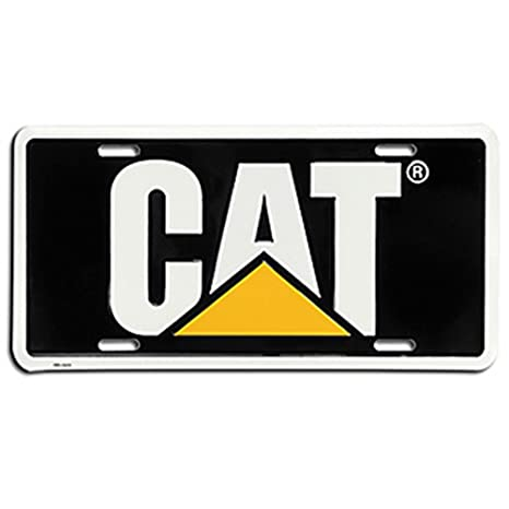 Amazon.com: Caterpillar CAT Equipment Traditional Black/Yellow/White ...