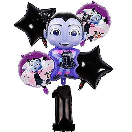 LIZHIOO 12 y 6 Unids/Lote Vampirina Número Conjunto Fiesta ...