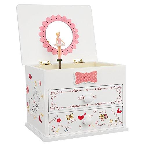 SONGMICS Ballerina Jewelry Little UJMC22W