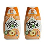Sweetleaf Stevia Natural Water Drops Peach Mango, 1.62 Ounce (Pack of 2)