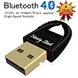 Bluetooth 4.0 USB Adapter,Newiy Start Micro USB Bluetooth Dongle 49FT/15M Compatible with Window XP,Vista,7,8,10 32/64Bit for Desktop,Laptop,Computers