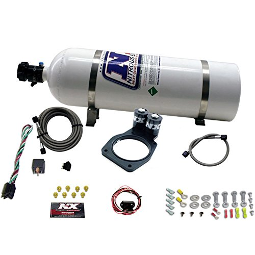 Nitrous Express 20931-15 2010 35-150 HP Plate System with 15 lbs. Bottle for Camaro ()