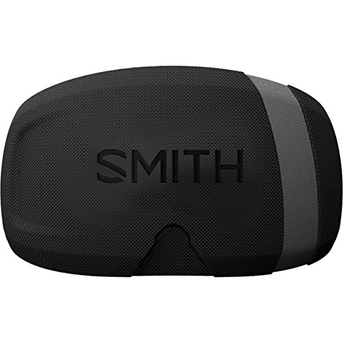 Smith Optics Molded Adult Goggle Lens Case Snocross Snowmobile Eyewear Accessories - Black/One Size