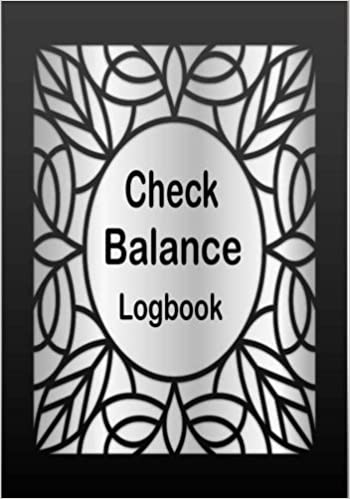 check balance logbook personal checking account balancing payment
