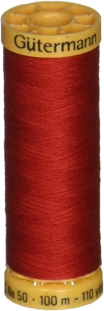 Gutermann 103C-5050 Thread Natural Cotton 110 Yards-Pale Pink