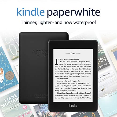 Kindle Paperwhite – Now Waterproof with 2x the Storage – Ad-Supported