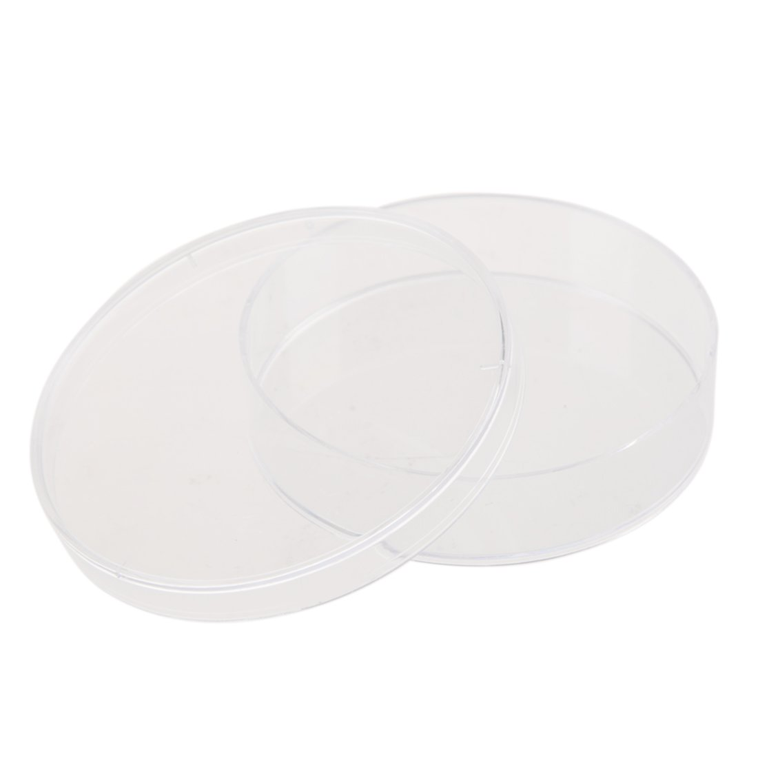 BNFUK 10Pcs Sterile Petri Dishes w//Lids for Lab Plate Bacterial Yeast 55mm x 15mm