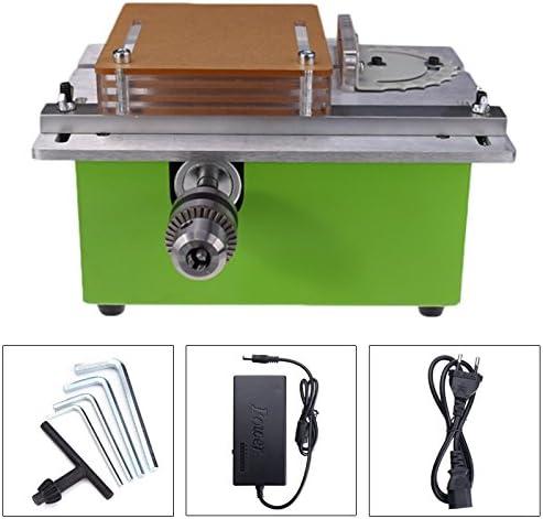 Raitool - Sierra de mesa de 12 a 24 V para cortar madera eléctrica ...