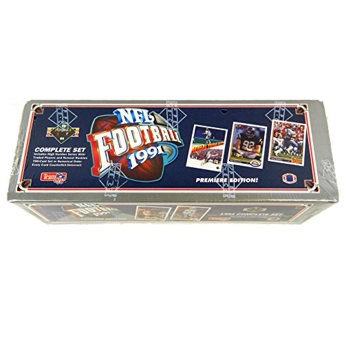 1991 Upper Deck Football Cards Unopened Factory Set (700 different cards) - (Upper Deck Football)