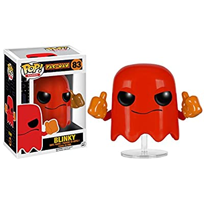 Funko POP Games: Pac-Man - Blinky Action Figure: Funko Pop! Games:: Toys & Games