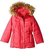 Weatherproof Baby Girls' Fashion Outerwear Jacket (More Styles Available), WG146-Red, 24M