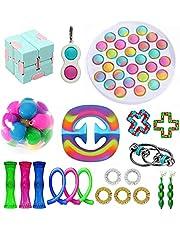 Fidget Toy Set, Cheap Sensory Fidget Toys Pack Figetget Toys Pack Figit Toys