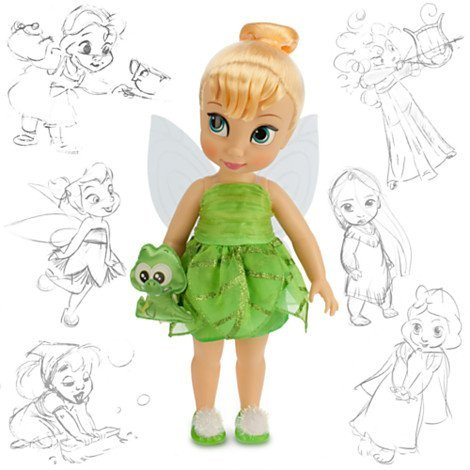 Disney Animators' Collection Tinker Bell Doll - 16'' (Collectible Tinkerbell Disney)