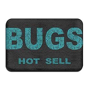 neizdan Bugs caliente sellnicepersonalized puerta matsmonogram doormatfunny Doormats al aire libre Doormats interior Doormats limpiador de alfombras Felpudo perro