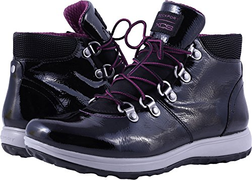 Rockport Women's XCS Britt Alpine Snow Boot, Black, 7.5 M (Alpina Alpine Boot)