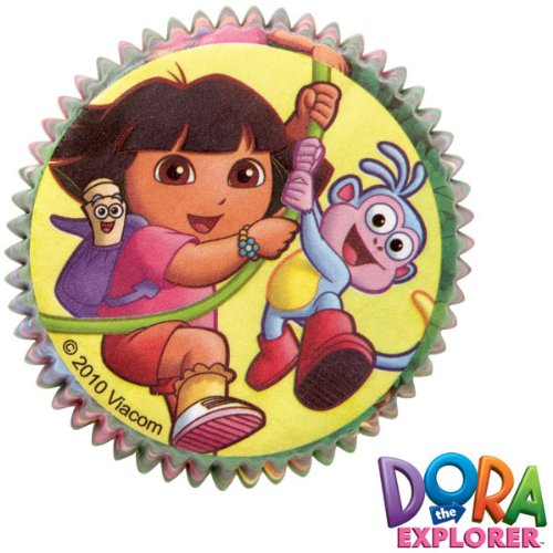 Wilton Dora the Explorer Standard Baking Cups, Pack of 50 -