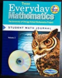 img - for Everyday Mathematics (Texas) Student Math Journal Grade 5 (The University of Chicago School Mathematics Project: Student Edition, Volume 2) book / textbook / text book