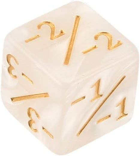 1 // 1 /& 5 Negative -1 per Magic The Gathering Table Game 1 Tree-on-Life Funny Dices 10x Dice Counters 5 Positive