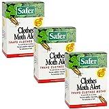 Safer 07270-AMAZ Clothes Moth, 3 Pack (6 Traps)