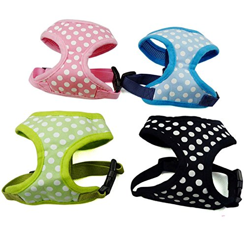 Adjustable-Dot-Collars-Breathable-Pet-Puppy-Vest-Harnesses-Dog-Cat-Chest-Straps-Walking-Lead-Supplies