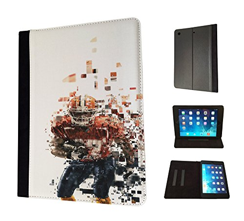 1790   American Sport Football Player Super Bowl Design Apple Ipad Pro 9 7   2016 Fashion Trend Tpu Leather Flip Case Protective Purse Pouch Book Style Defender Stand Cover