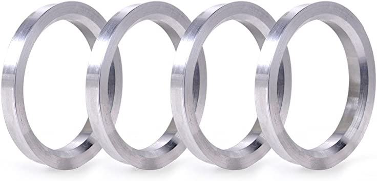 4 x anillas de centrado exterior 70,4 mm-interior 56,1 mm Spigot Rings