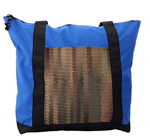 - Ambesonne Earth Tones Shoulder Bag, Disco Party Dots, Durable with Zipper