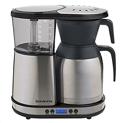 ccbdc260977e Amazon.com  Bonavita 8-Cup One-Touch Coffee Maker Featuring Programmable  Setting and Thermal Carafe