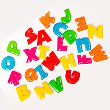 Amazon.com: Fun and Function ABC Sensory Letters, Complete Colorful ...