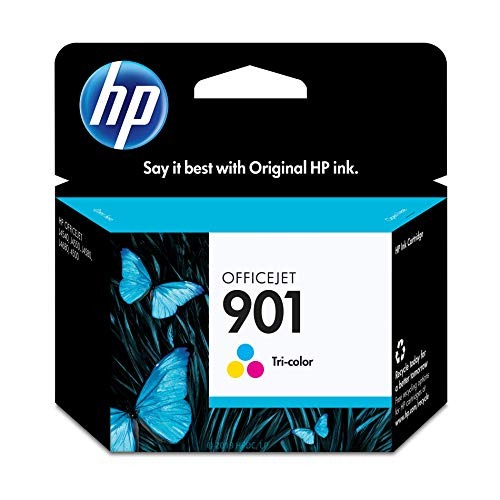 - HP 901 Tri-Color Ink Cartridge (CC656AN)