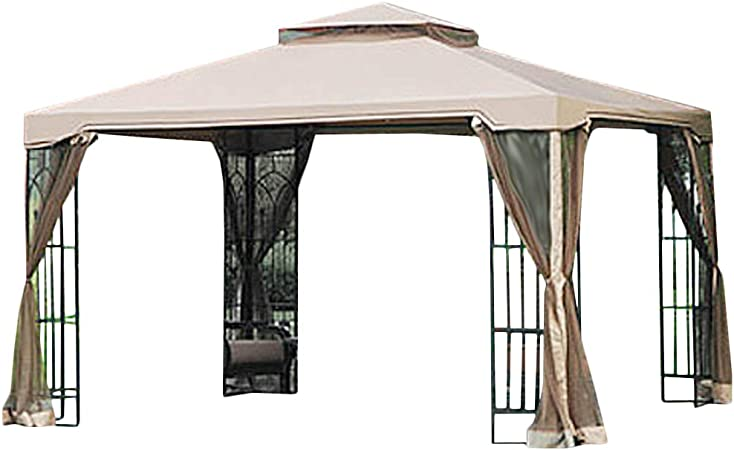 Amazon Com Garden Winds 10 X 12 Arrow Gazebo Replacement Canopy Top Cover Riplock 350 Garden Outdoor