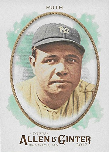 Babe Ruth 5 Card Gift Lot Including his 2017 Topps for sale  Delivered anywhere in USA