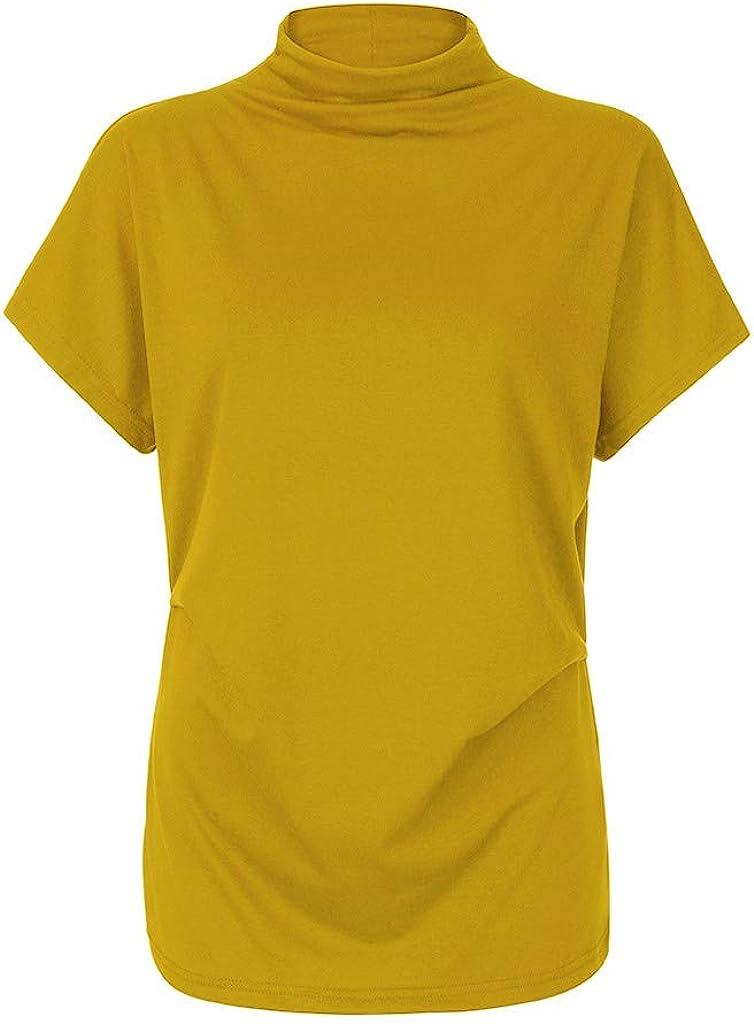 Xinantime Blusa con Hombros Fríos Camisa Casual Camisetas Cuello ...