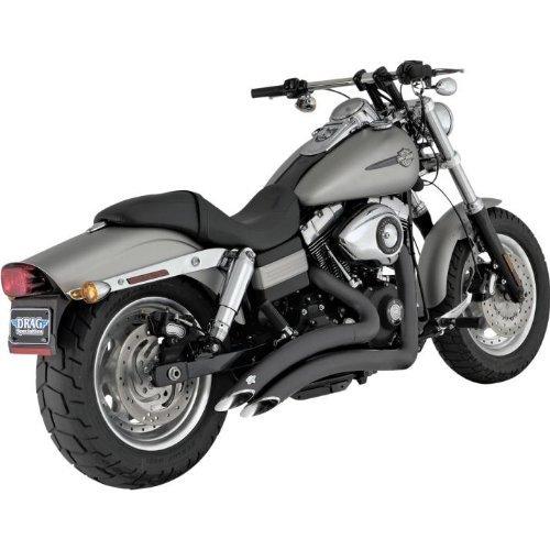 Big Radius Baffles (Vance and Hines Big Radius 2-Into-2 Full System Exhaust for Harley Davidson 200 - One Size)